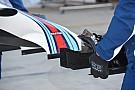 Técnica: El nuevo alerón delantero del Williams FW38 en Austin