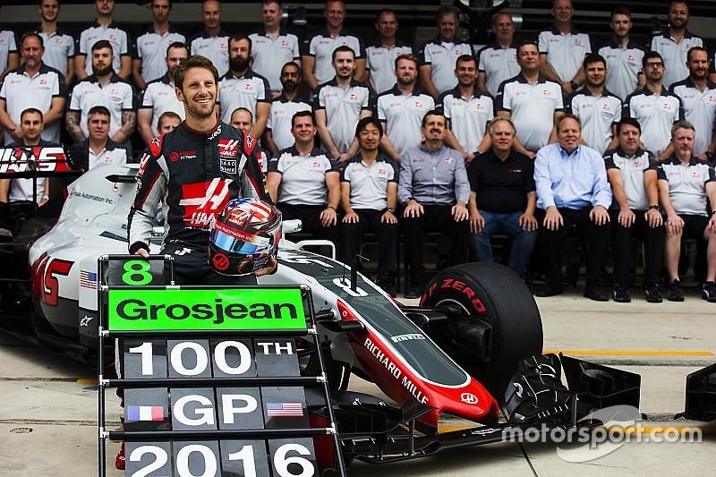 Grosjean hace historia para el equipo Haas