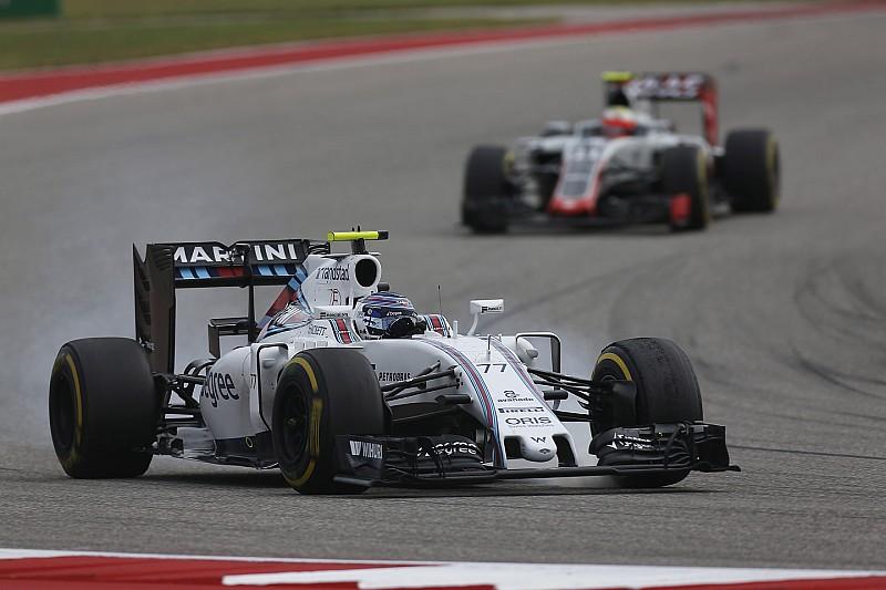 Williams no puede competir con los tres equipos top, dice Bottas