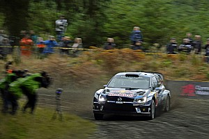 WRC Resumen de la fase Ogier cierra el viernes en Gales con una buena ventaja
