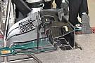 Технічний брифінг: переднє антикрило та гальмівний механізм Mercedes