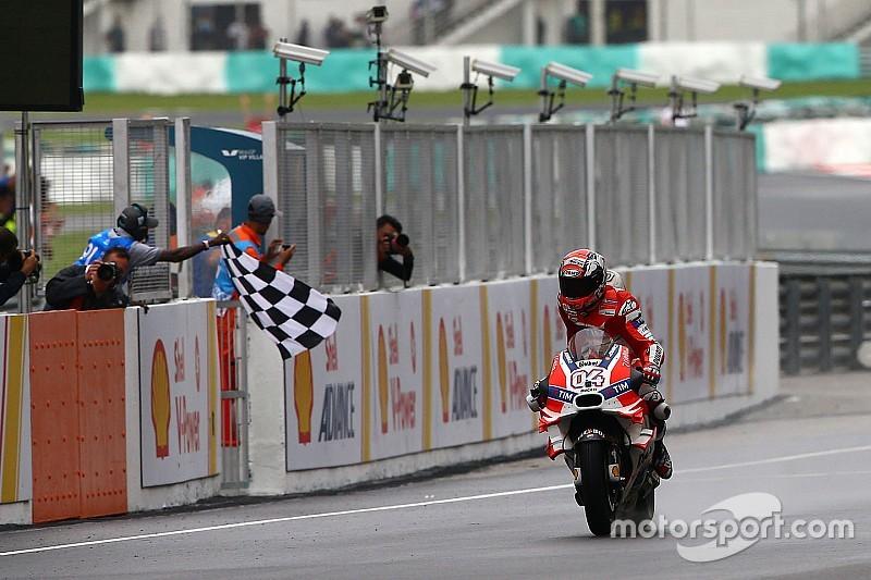 Dovizioso, noveno ganador de la temporada en MotoGP