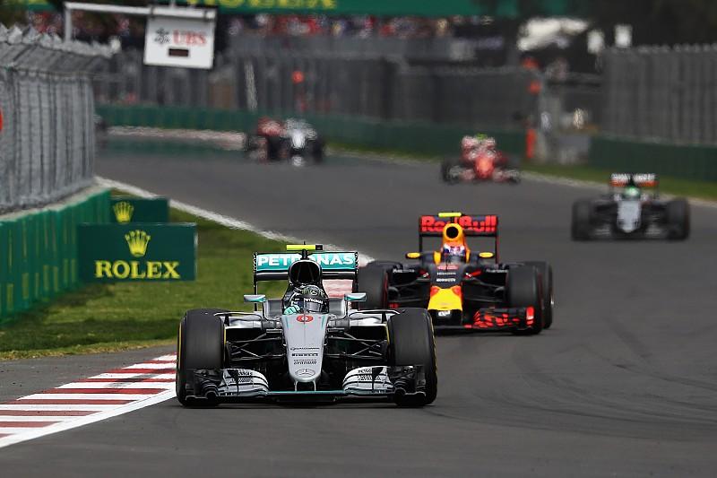 "Rosberg: ""Verstappen cruzó el límite"""