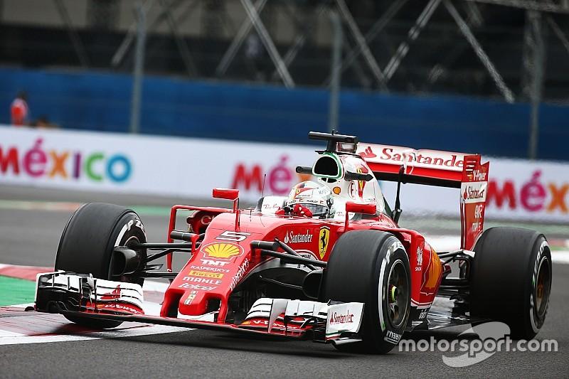 Ferrari vraagt stewards om nog eens naar Vettels straf in Mexico te kijken