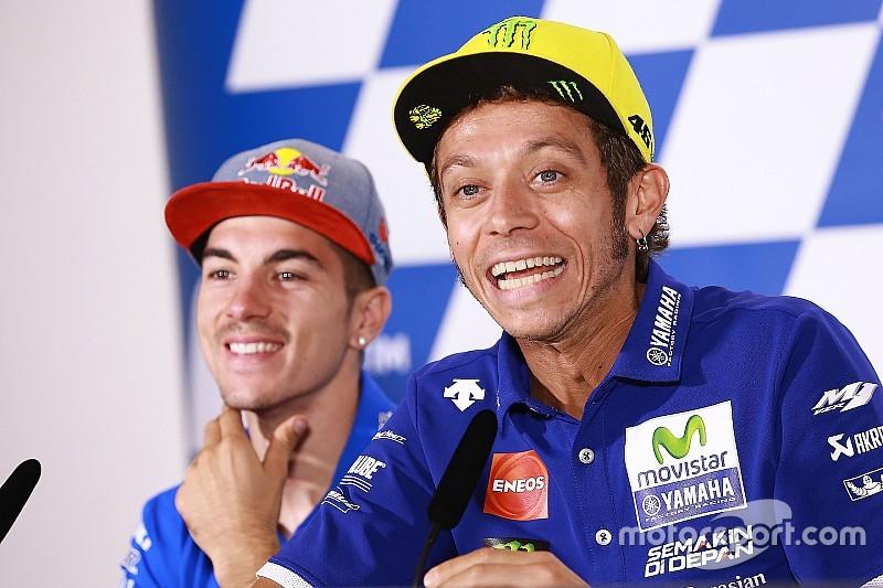 【MotoGP】来季の相棒を警戒するロッシ。「ビニャーレスに全データを公開するつもりはない」