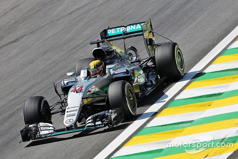 GP Brasil: Hamilton kembali ungguli Rosberg di FP2