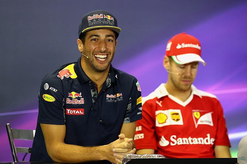Pour Ricciardo, Ferrari devrait abandonner l'appel sur le cas Vettel