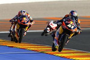 Moto3 Reporte de la carrera Binder gana con Mir segundo y premio al mejor debutante del año
