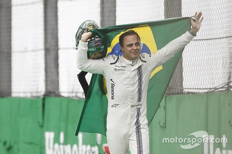 Масса эмоционально попрощался с Гран При Бразилии