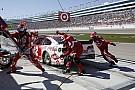 Ein NASCAR-Boxenstopp in Zeitlupe