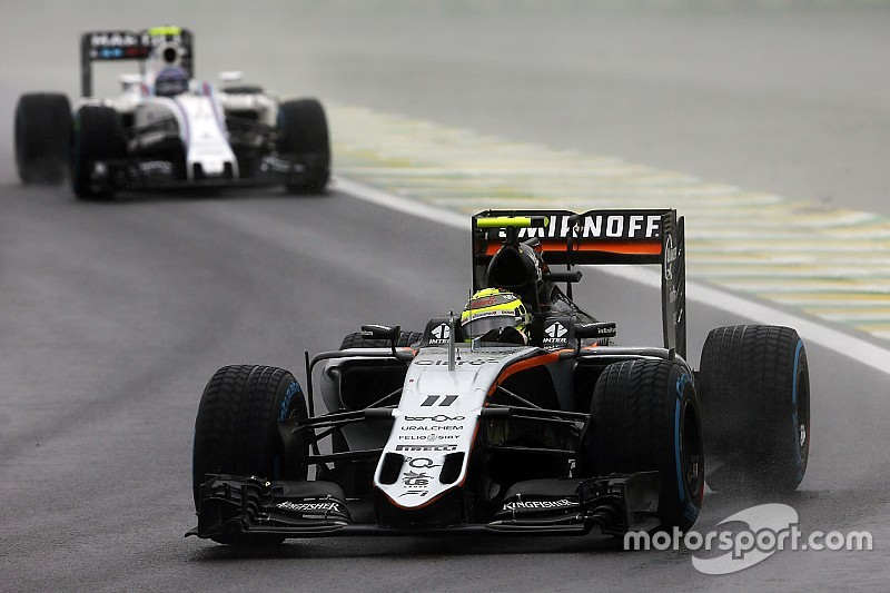 Force India vibra com vitória sobre Williams no Brasil