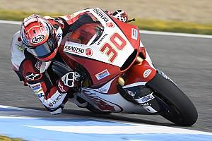 Moto2 Reporte de pruebas Nakagami en Moto2 y Fenati en Moto3, lideran el primer día de test en Jerez