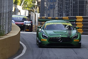GT Trainingsbericht GT in Macau: Mercedes-Bestzeit und Porsche-Crash im 2. Training