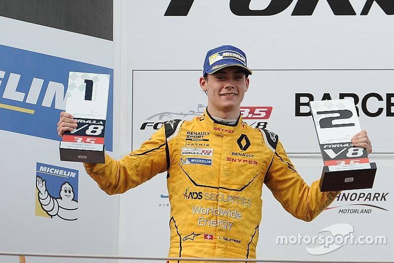 Louis Deletraz maakt in Abu Dhabi zijn GP2-debuut