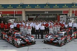WEC News WEC-Abschiedsworte von Audi:
