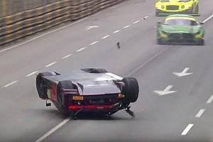 GT Reporte de la carrera GT World Cup: Vanthoor declarado ganador tras salir volando