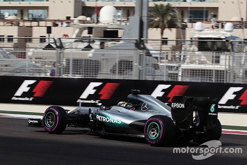 Хэмилтон стал быстрейшим во второй тренировке в Абу-Даби