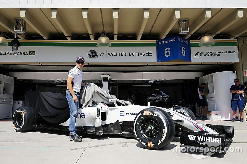 Williams подарує Массі машину з Гран Прі Бразилії