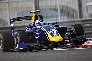 GP3 Raceverslag GP3 Abu Dhabi: Hughes wint knotsgekke finale