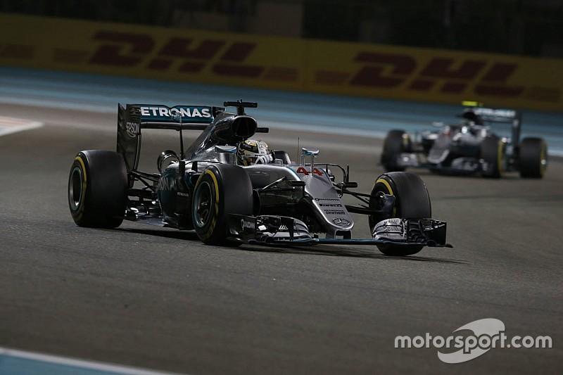 """Webber: """"Hamilton ging net tot op de limiet"""""""