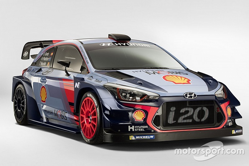 Hyundai onthult WRC-bolide voor 2017