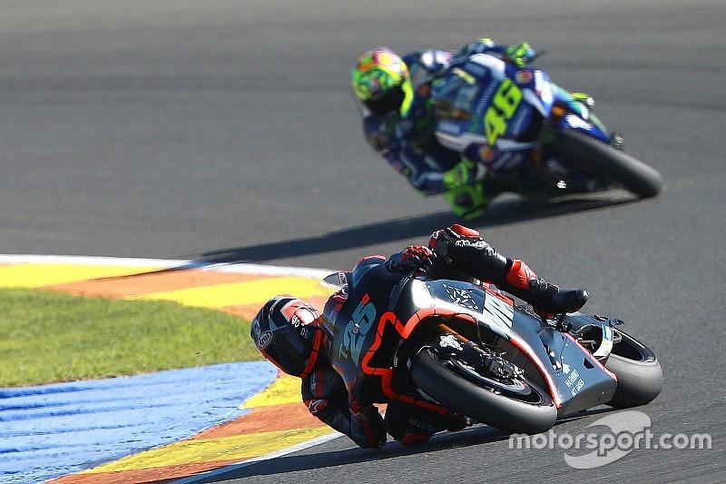 """Rossi: Viñales """"vai me dar tantos problemas quanto Lorenzo"""""""