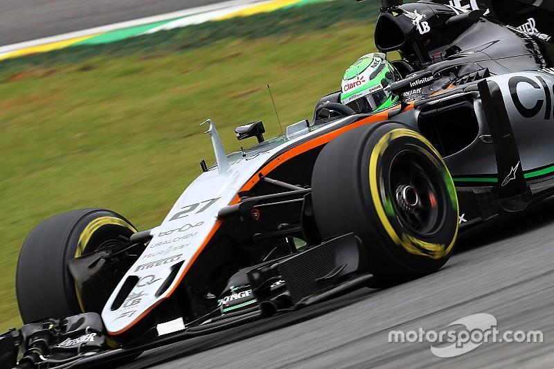 """هلكنبرغ يأمل ألا يبقى أداء سائقي الفورمولا واحد """"محدودًا"""" بالإطارات في 2017"""