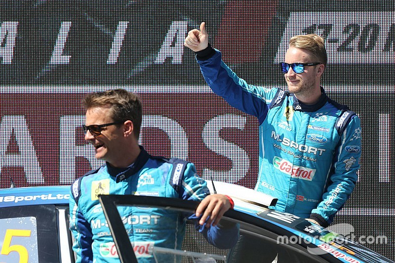 """أوستبرغ وبروكوب سيشكّلان فريق """"دبليو آر سي"""" بسيارة فورد"""