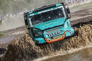 Dakar Analisi Dakar: De Rooy... naviga sul bagnato con l'Iveco Petronas