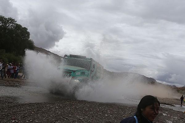 Camions - De Rooy en tête à mi-parcours