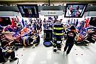 Toro Rosso arbeitet
