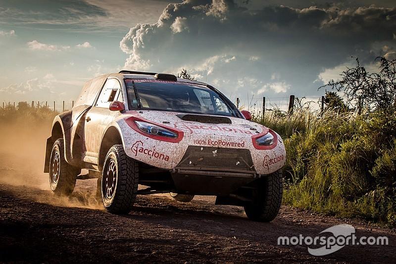 El reto técnico del único coche eléctrico del Dakar