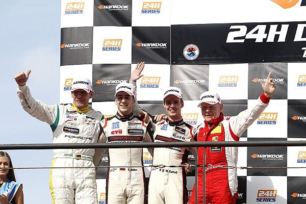 Il 2017 di Matteo Cairoli inizia con il podio alla 24 Ore di Dubai