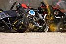 La FIA a simulé le crash d'Alonso avec le Halo