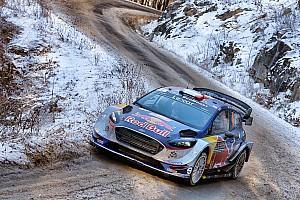 WRC 赛段报告 蒙特卡洛拉力赛:诺伊维尔赛车受损,将第一拱手让给奥吉尔
