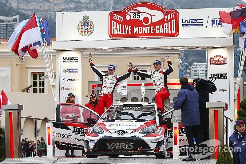 Latvala superó sus expectativas en su debut con Toyota