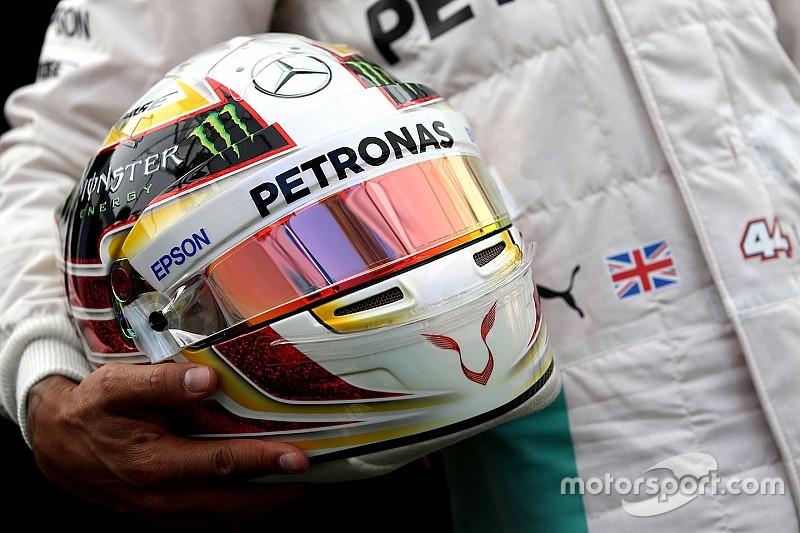 Formel 1 2017: Lewis Hamilton sucht neues Helmdesign