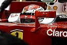 Райкконен впервые в 2017-м сел за руль Ferrari