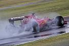 Vettel sbatte a Fiorano sul bagnato con la SF15-T mule!