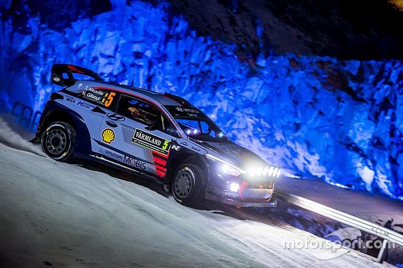"""Neuville dice que su abandono en el Rally de Suecia fue """"mala suerte"""""""