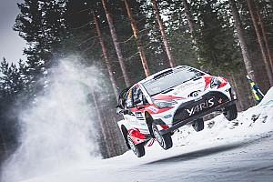WRC Leg звіт Ралі Швеція: історичний успіх Toyota