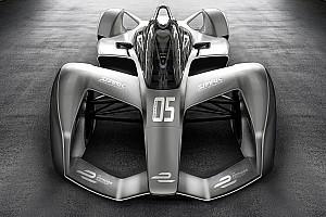 Formula E BRÉKING Merész jövő előtt a Formula E: látványterveken az új kocsi