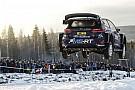 WRC Взлетная полоса. Самые захватывающие прыжки Ралли Швеция