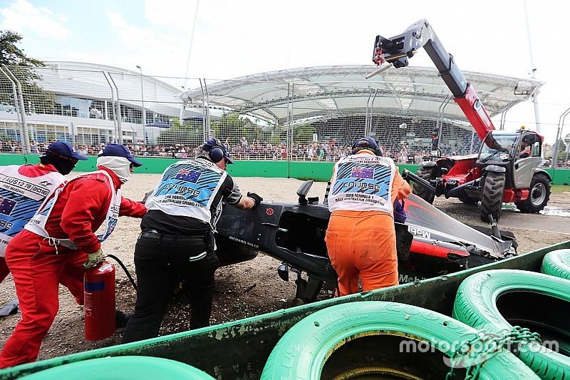 На Гран Прі Австралії встановлять додаткові бар'єри безпеки
