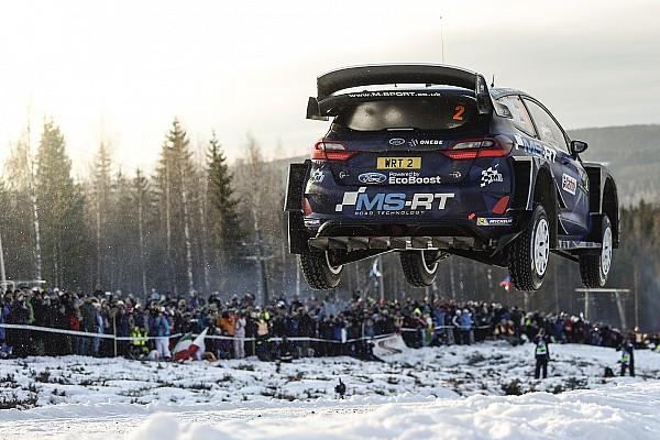 دبليو آر سي  الأكثر تشويقاً معرض الصور: أجمل القفزات من رالي السويد