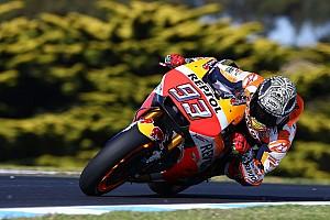MotoGP Információk a tesztről MotoGP: Marquez az élen az ausztrál teszt első napján!