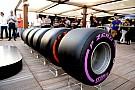 Формула 1 В Pirelli подготовили резервные составы шин для первых Гран При