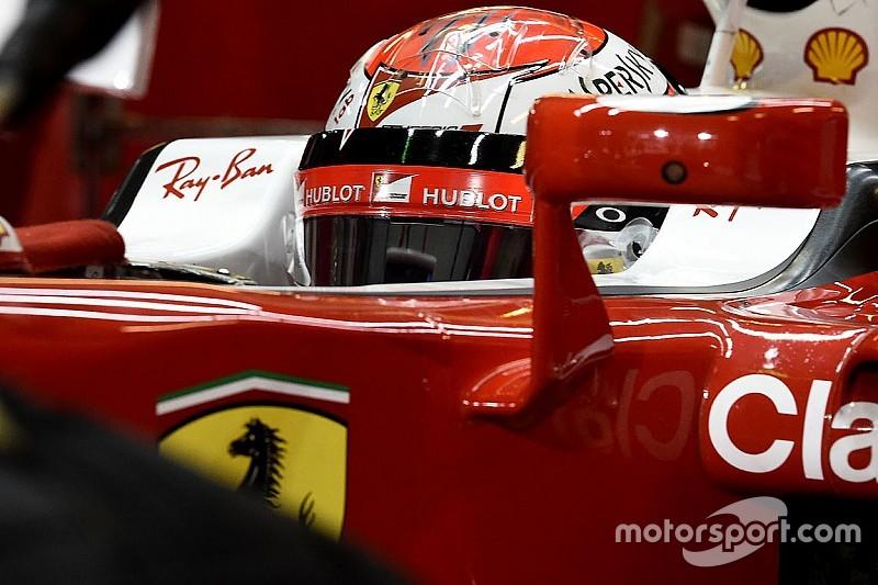 Raikkonen vrijdag als eerste in actie met nieuwe Ferrari