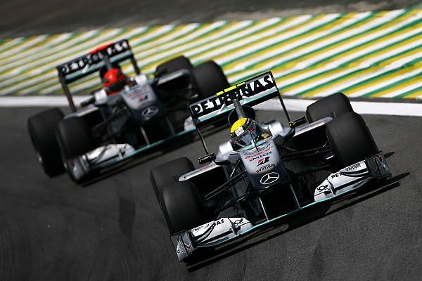 Photos - Toutes les Mercedes F1 depuis 1954