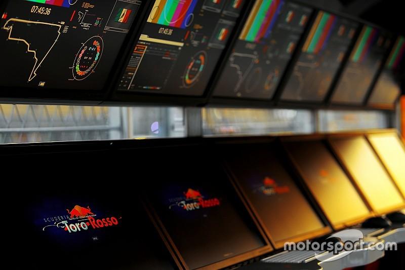 Toro Rosso interrumpe su primera prueba por un fallo en el ERS